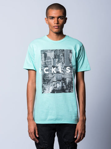 City Life Tee - Ice Green
