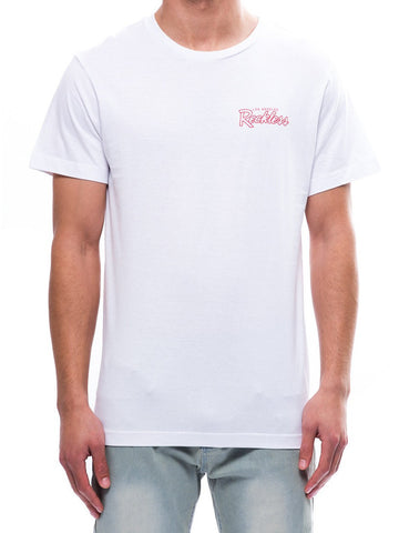 Young and Reckless Mens - Tees - Graphic Tee Day One Tee- White