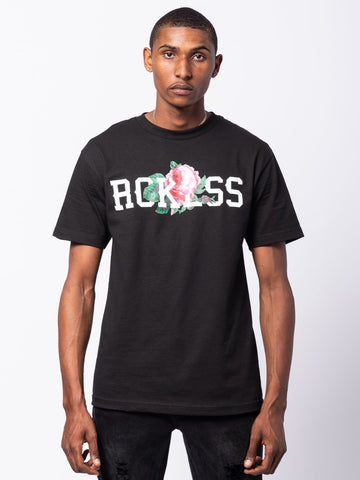 Young and Reckless Mens - Tees - Graphic Tee Descanso Tee - Black