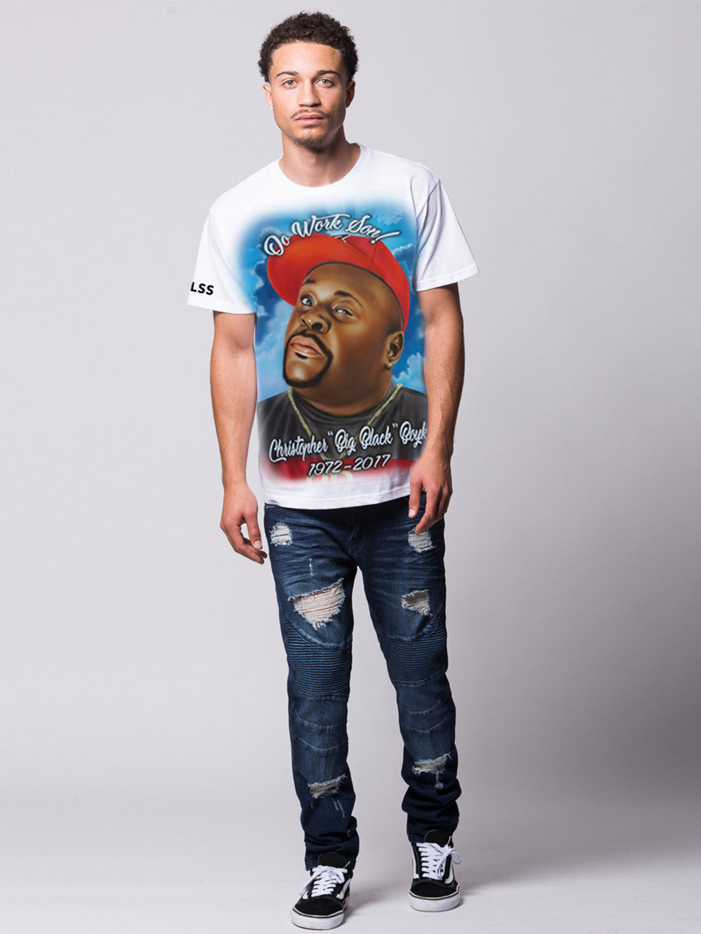 Young and Reckless Mens - Tees - Graphic Tee Do Work Tee