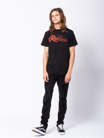 Dualism Tee - Black/Red