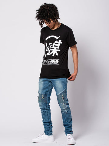 Foreign Exchange Tee - Black