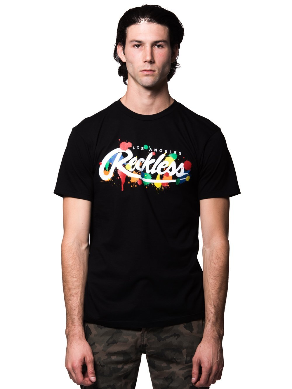 8fa206bb9 Young and Reckless Mens - Tees - Graphic Tee Franz Tee - Black ...