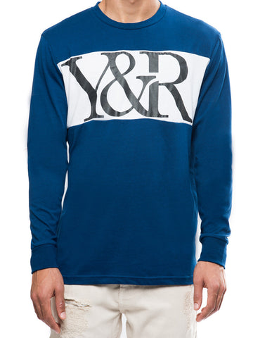 Hybrid Long Sleeve- Navy