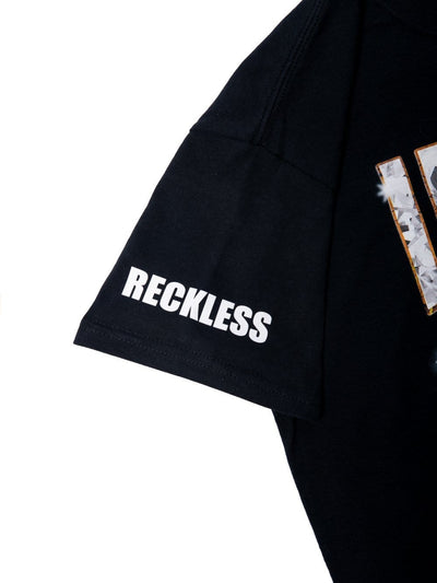 Young and Reckless Mens - Tees - Graphic Tee Lil Pump X Reckless Esskeetit Tee - Black S / BLACK