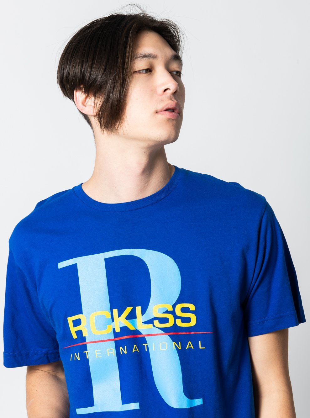 Young and Reckless Mens - Tees - Graphic Tee Marina Tee - Royal