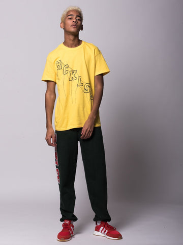 Minor Thread Tee - Yellow