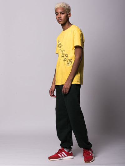 Young and Reckless Mens - Tees - Graphic Tee Minor Thread Tee - Yellow