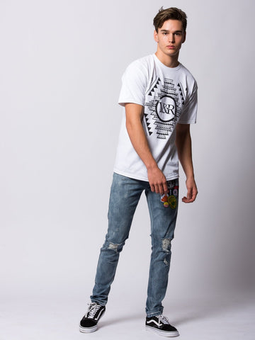 Native Customs Tee - White