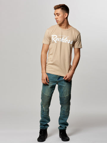 OG Reckless Tee- Sand