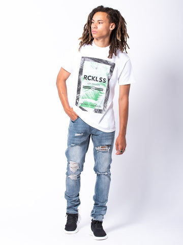 Pacific Eden Tee - White