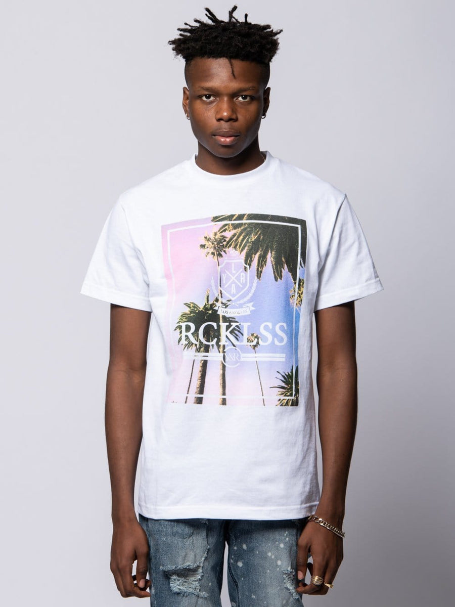 Pacific Sunrise Tee - White