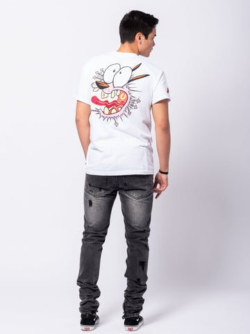 Petrified Tee - White