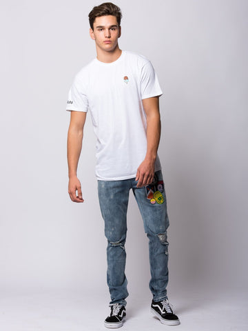 Popsicle Tee - White