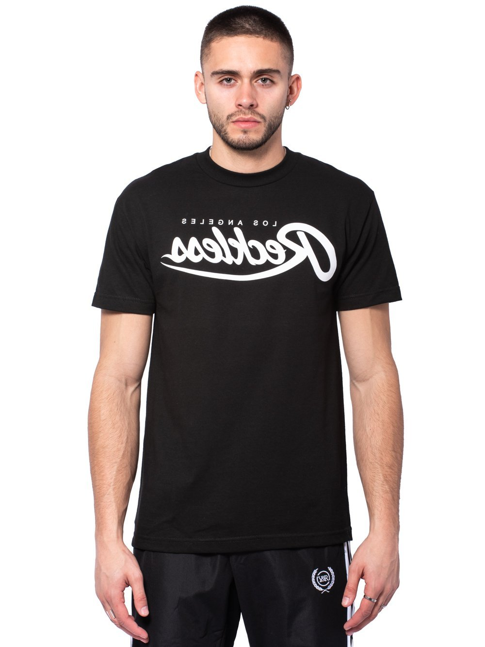 Young And Reckless Black /'Reckless Flag/' T-Shirt **NEW**