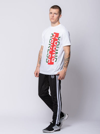 Young and Reckless Mens - Tees - Graphic Tee Seaport Tee - White S / WHITE