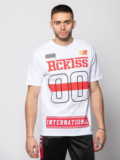 Young and Reckless Mens - Tees - Graphic Tee Sector Tee - White S / WHITE