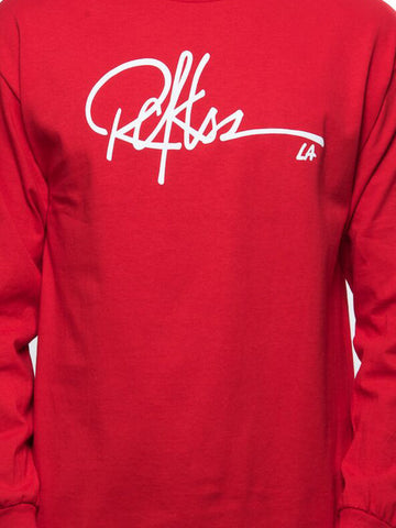 Signature Long Sleeve - Red