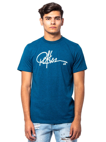 Young and Reckless Mens - Tees - Graphic Tee Signature Tee - Teal
