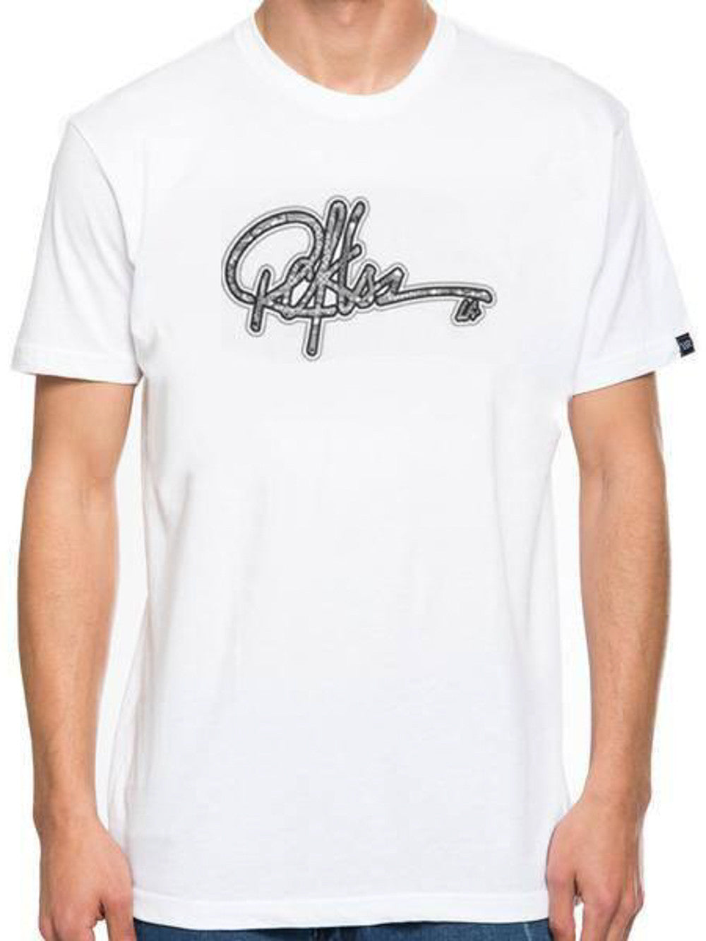 Young and Reckless Mens - Tees - Graphic Tee Signature Tee - White