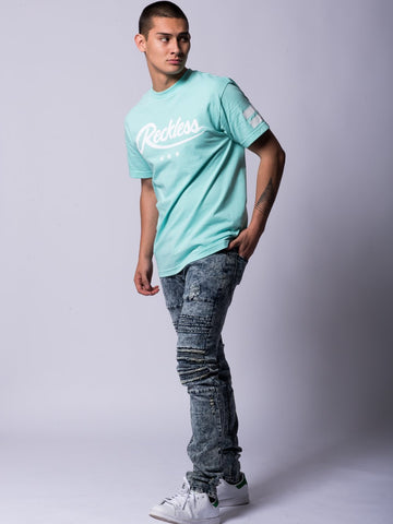 Starting Block Tee- Ice Green
