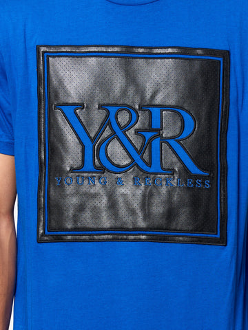 Trademark Perf Tee - Royal Blue