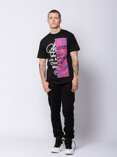 Young and Reckless Mens - Tees - Graphic Tee Transplant Tee - Black S / BLACK