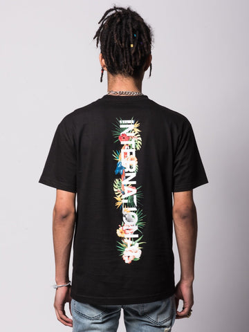 Tropic Passion Tee - Black