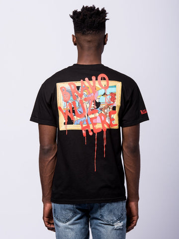 Vandalized Tee - Black