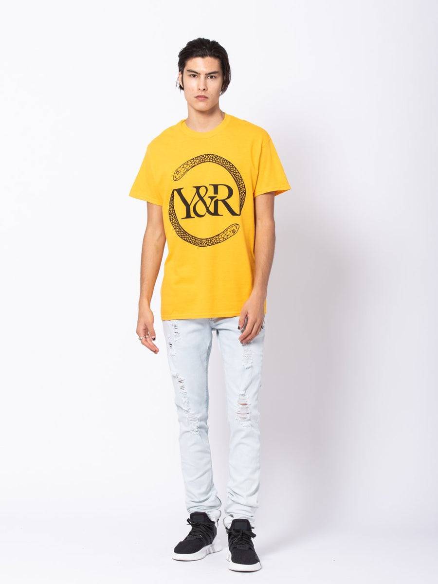 Vipers Tee - Gold/Yellow