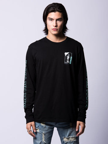 Young and Reckless Mens - Tees - Long Sleeve Born Sinners Long Sleeve- Black