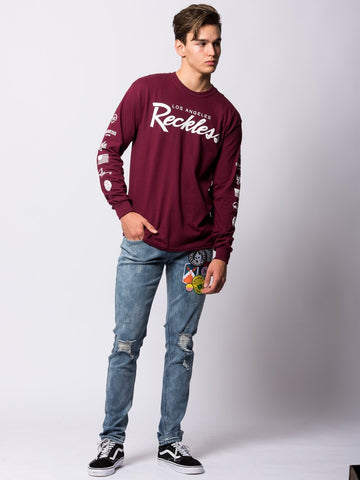 Circuit Long Sleeve - Maroon