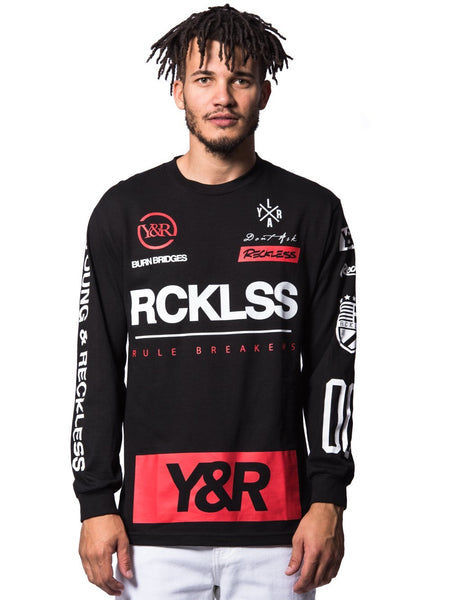 Fast Track Long Sleeve- Black