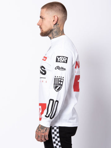 Fast Track Long Sleeve - White