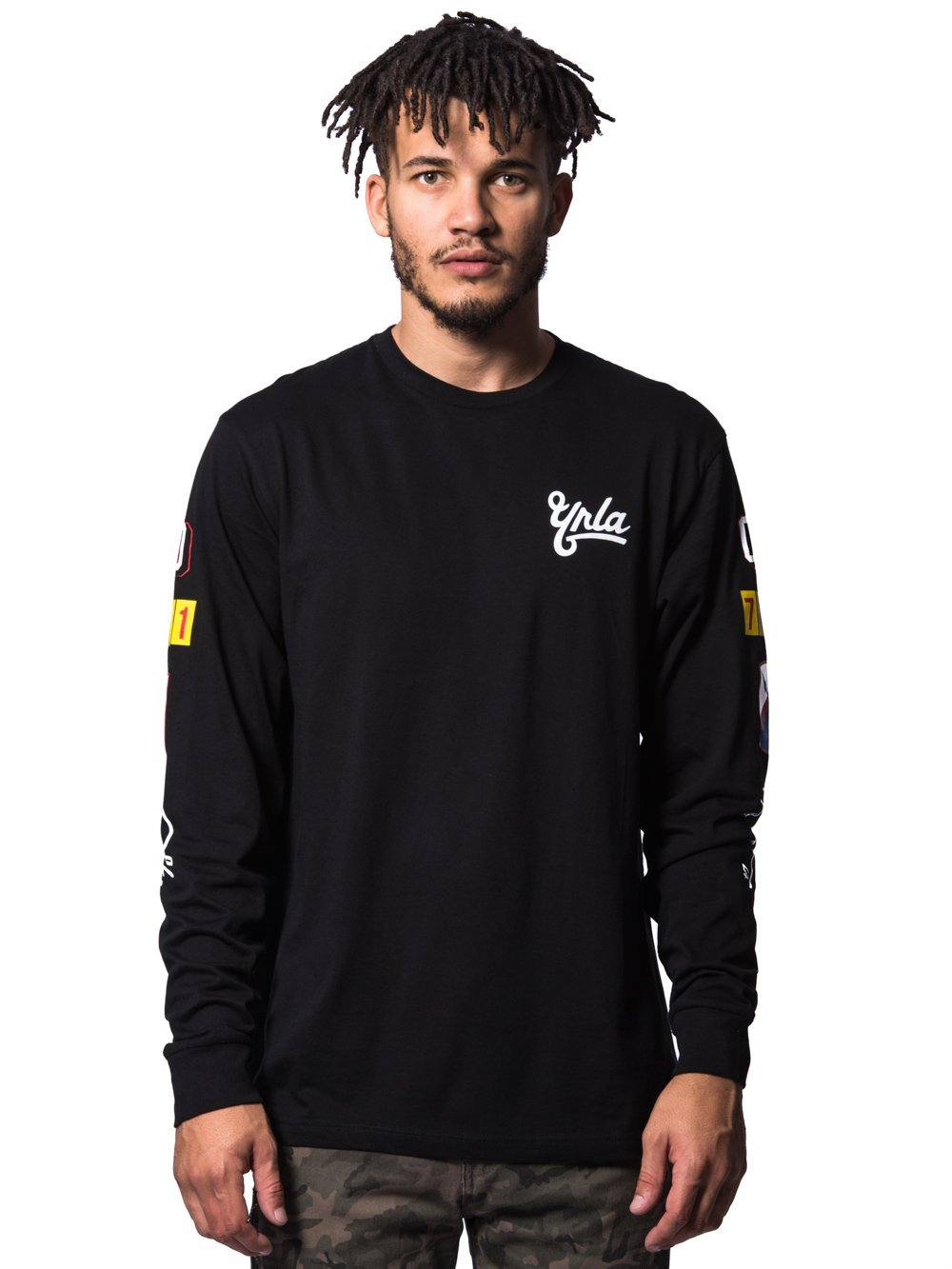 Young and Reckless Mens - Tees - Long Sleeve First Team Long Sleeve- Black