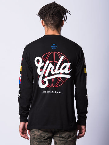 First Team Long Sleeve- Black