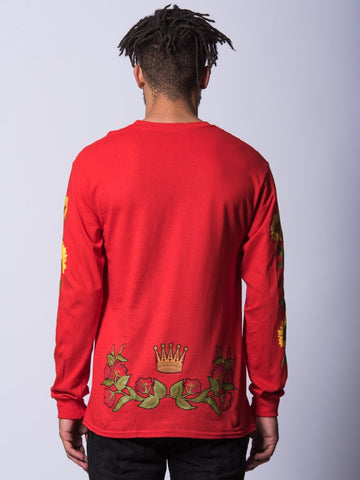 Haiden Long Sleeve- Red