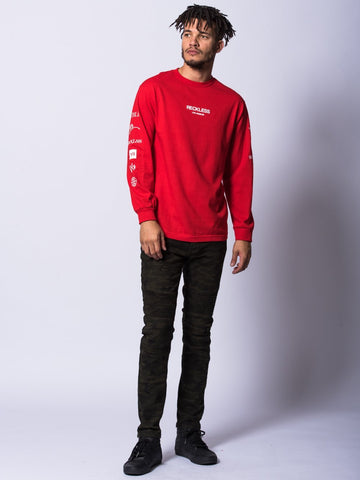 Head 2 Head Long Sleeve- Red