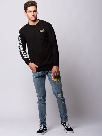 Home Stretch Long Sleeve - Black