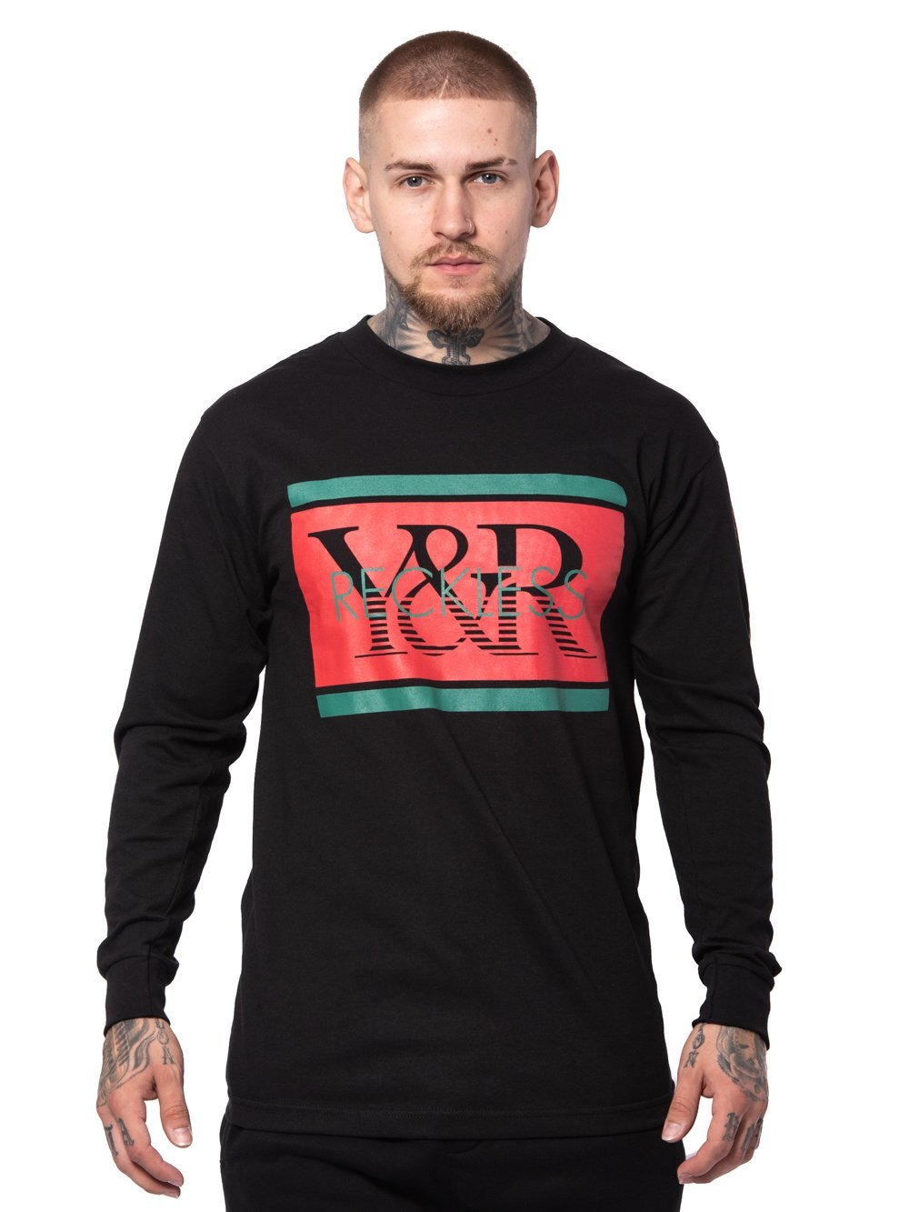 Young and Reckless Mens - Tees - Long Sleeve Hydro Long Sleeve Tee - Black