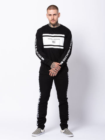 Incorporated Long Sleeve - Black