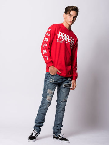Kyoto Long Sleeve - Red