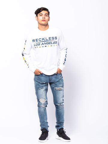 Nautical Long Sleeve - White