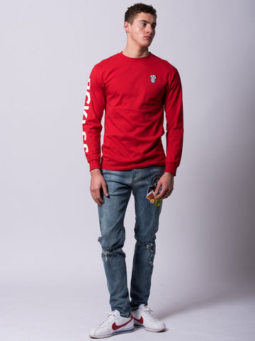 Nocturnal Long Sleeve - Red