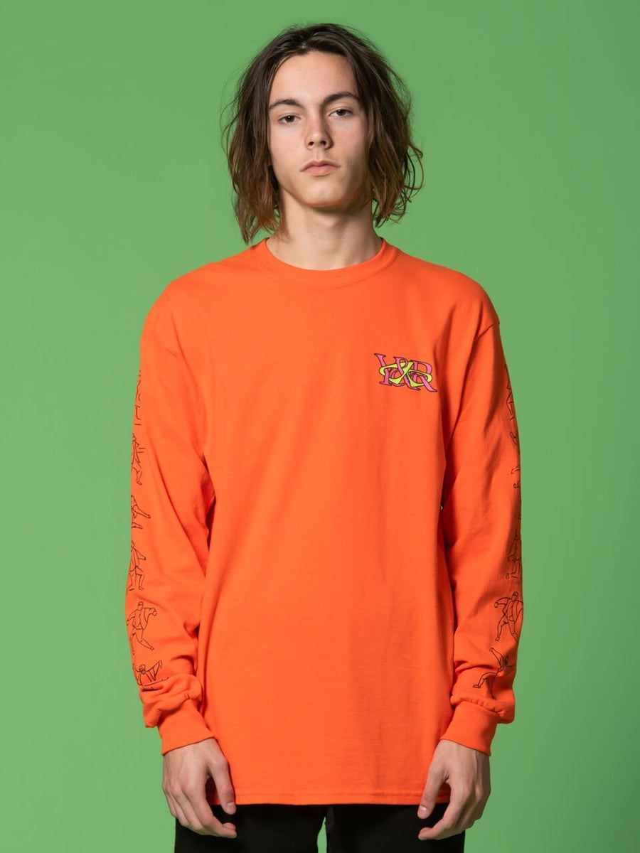 RCKLSS X PRDY GNG  Bogus Long Sleeve - Orange