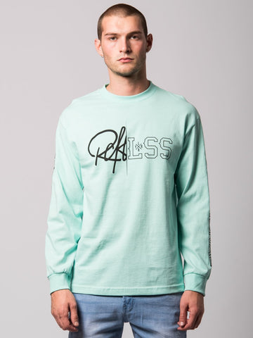 Young and Reckless Mens - Tees - Long Sleeve Rift Long Sleeve- Celadon