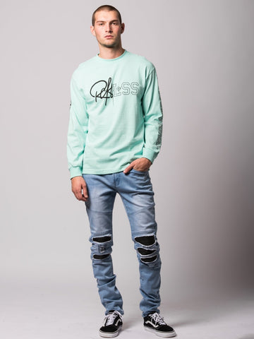 Rift Long Sleeve- Celadon