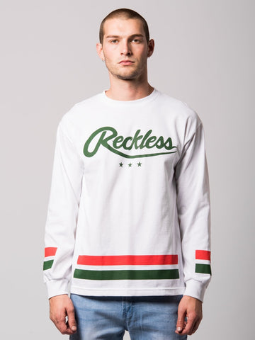 Roster Long Sleeve- White