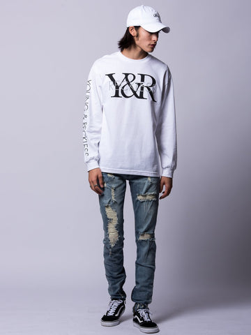 Staple Long Sleeve - White
