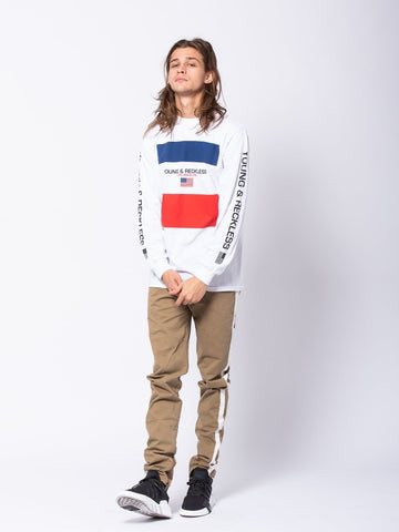Starboard Long Sleeve - White/Red